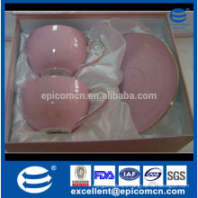 stock on sale 300cc cup and saucer set of 2 fine porcelain in gift box