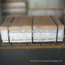 Hoja de aleación de aluminio h32 / placa 3005