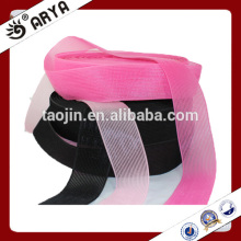 new design decoration for hair three kind colors nylon hook and loop for hair band decoration