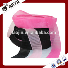 Decoração de design novo para o cabelo, três cores genéricas, gancho e laço de nylon para decoração de banda de cabelo