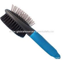 Pet Hair Combo Brush, Great For Pet Grooming