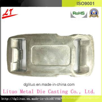Прочный алюминиевый литой замок ремня безопасности частей Buttom