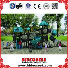 Neuer Dschungel Kinder Kunststoff Outdoor Spielplatz zum Verkauf