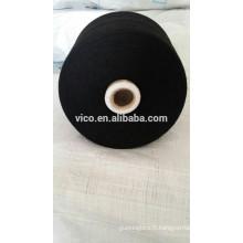 10s / 1 fils polyester / spandex corespun