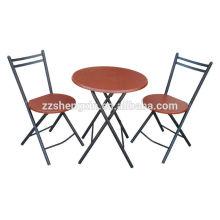 MDF mesa plegable de mesa conjunto muebles de comedor