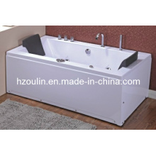 White Acrylic Sanitary Whirlpool Massage Bathtub (OL-658)