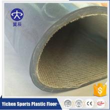 Suelo de vinilo comercial del rodillo de calidad superior del PVC