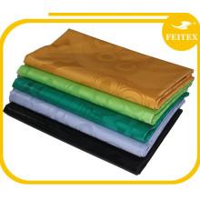 Abaya Wholesale New Design African Bazin Riche viste tela 100% de teñido de algodón de la tela