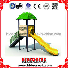 Small Children Plastic Outdoor Playground with Wave Slide