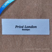 Étiquette de Polyster d'impression faite sur commande de label de qualité / impression de logo de marque de haute qualité