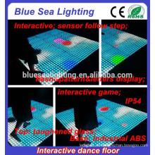 Led Glasfalten beleuchtete Disco Tanzfläche