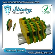 TF-G4 Tornillo de tierra eléctrico de plástico Conector del bloque de terminales