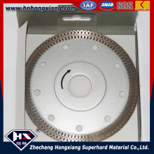 115 mm Continous Turbo Diamond Saw Blade for Cutting Granite