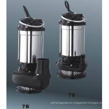 Bomba sumergible serie Qjd con CE y UL (cuerpo de acero inoxidable)