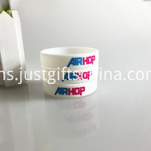 Promotional Child Printed Silicone Bracelets - 150mmx12mmx2mm (4)