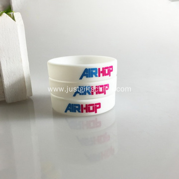 Promotional Child Printed Silicone Bracelets