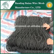 Malla de cable de alambre de acero inoxidable flexible multifuncional / malla de cable / malla de valla de zócalo