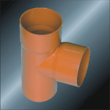 DIN PVC Drainage Fitting Tee Spigot 110mm