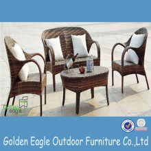 Hot Sale Moderna PE Rattan Garden Furniture