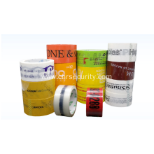 Adhesive custom printed packing tape