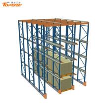 armazenamento de logística de sistemas de prateleira de drive-in de armazém
