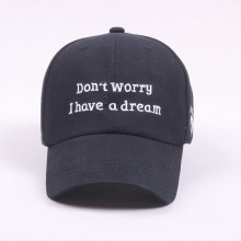 Custom Flat Embroidery Polyester Cap