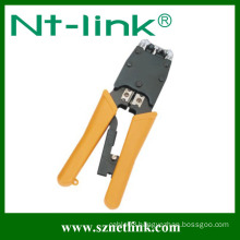 6P+8P without ratchet network cable crimp tool