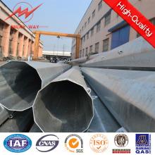 69kv Africa Octognal 27.5m 18kn Steel Pole Price