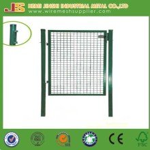 Green Powder Coated Walkway Welded Garden Gate