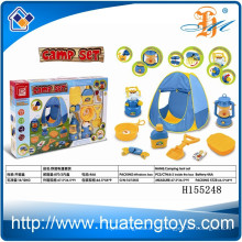 Heiße Verkauf lustige Kinder stellten kampierendes Zeltspielzeug, kampierendes Kochset H155248 ein