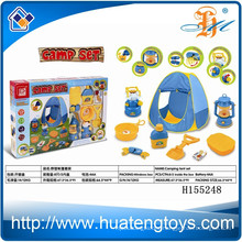 Hot sale funny kids set camping tent toy, camping cook set H155248