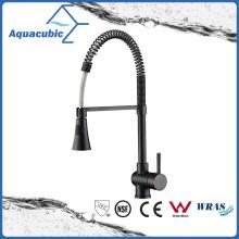 Orb Single Handle Upc Black Kitchen Sink Faucet (AF1016-5)
