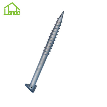 Hot Dipped Galvanized Ground Screw untuk Rusia