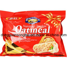 Oatmeal Snack Bag/Food Packaging Bag for Crisp Oatmeal/Cookies Bag
