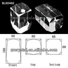 K9 De cristal em branco para a gravura do Laser 3D