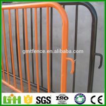 Barreras de control de muchedumbre de metal de pierna desmontable de alta calidad