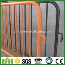 Barrières de contrôle de foule en métal détachées de haute qualité