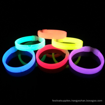 rainbow glow wristbands