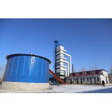Secador de torre de circulación de aire caliente para maní