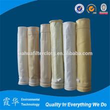 Saco de filtro de poeira de cimento de alta qualidade para usina siderúrgica