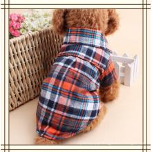 Camisa da roupa do cão de estimação da manta do