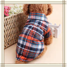 ПЭТ Мода Плед Собака Одежда Рубашка
