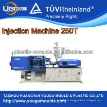 Machine de moulage par injection plastique à économie d'énergie D250T pour les moisissures domestiques