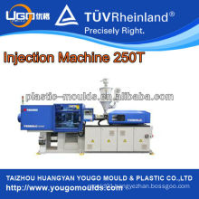 Energy saving plastic injection moulding machine D250T for households mould
