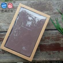 Индивидуальная кожаная сумка с кожаной отделкой / школьная / дневная тетрадь с подарочной коробкой (XL-48K-HP-01)