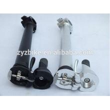 Tige de bicyclette pliable (levier inférieur 25,4 mm) poignet de bicyclette pliante accessoires tête et cou