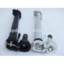 Haste de bicicleta dobrável (alavanca inferior 25,4 mm) acessórios de cabeça e pescoço do guidão da bicicleta dobrável