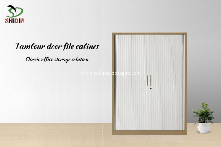 metal file cupboard tambout door cabinets
