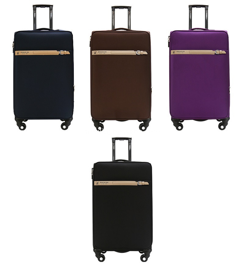 customized color luggage