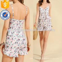 Calico Print Top mit Shorts Herstellung Großhandel Mode Frauen Bekleidung (TA4100SS)